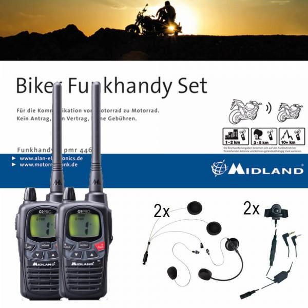 Midland G9 Pro Bikerset für Jet- & Integralhelme