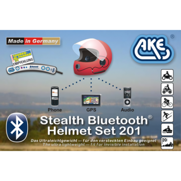 AKE baehr Bluetooth Extension Set für Harley 5-pol